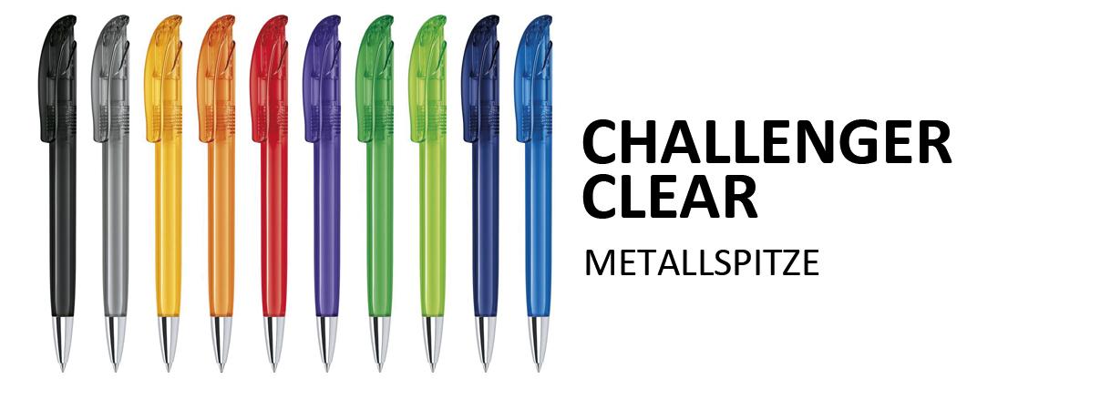 Kugelschreiber Challenger Clear MT
