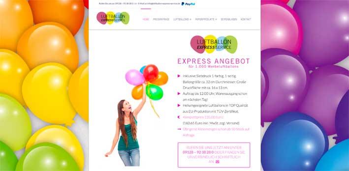 Luftballon-Express-Service