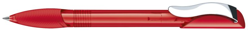 Senator Hattrix Clear Softgriff Metallclip rot