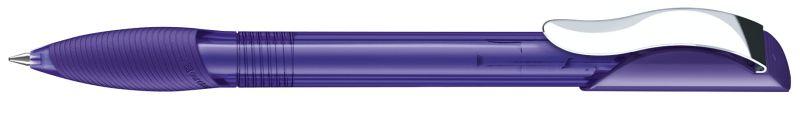 Senator Hattrix Clear Softgriff Metallclip violett