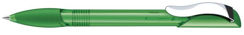 Senator Hattrix Clear Softgriff Metallclip dunkelgrün