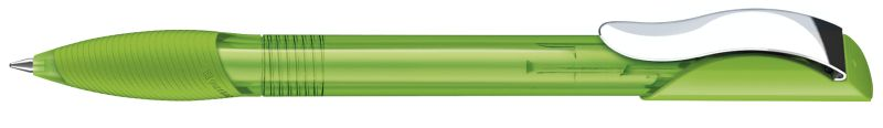 Senator Hattrix Clear Softgriff Metallclip hellgrün