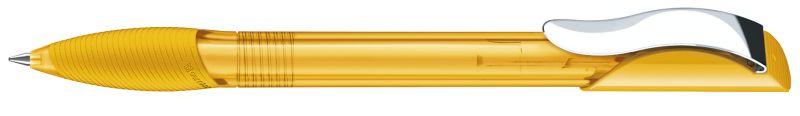 Senator Hattrix Clear Softgriff Metallclip gelb