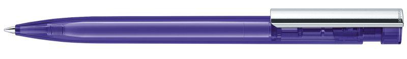 Senator Liberty Clear Metallclip violett
