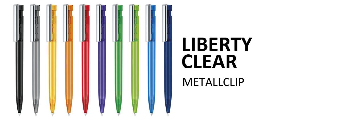 Senator Kugelschreiber Liberty Clear MC