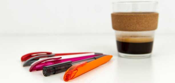 Kunststoffkugelschreiber mittleres Preissegment