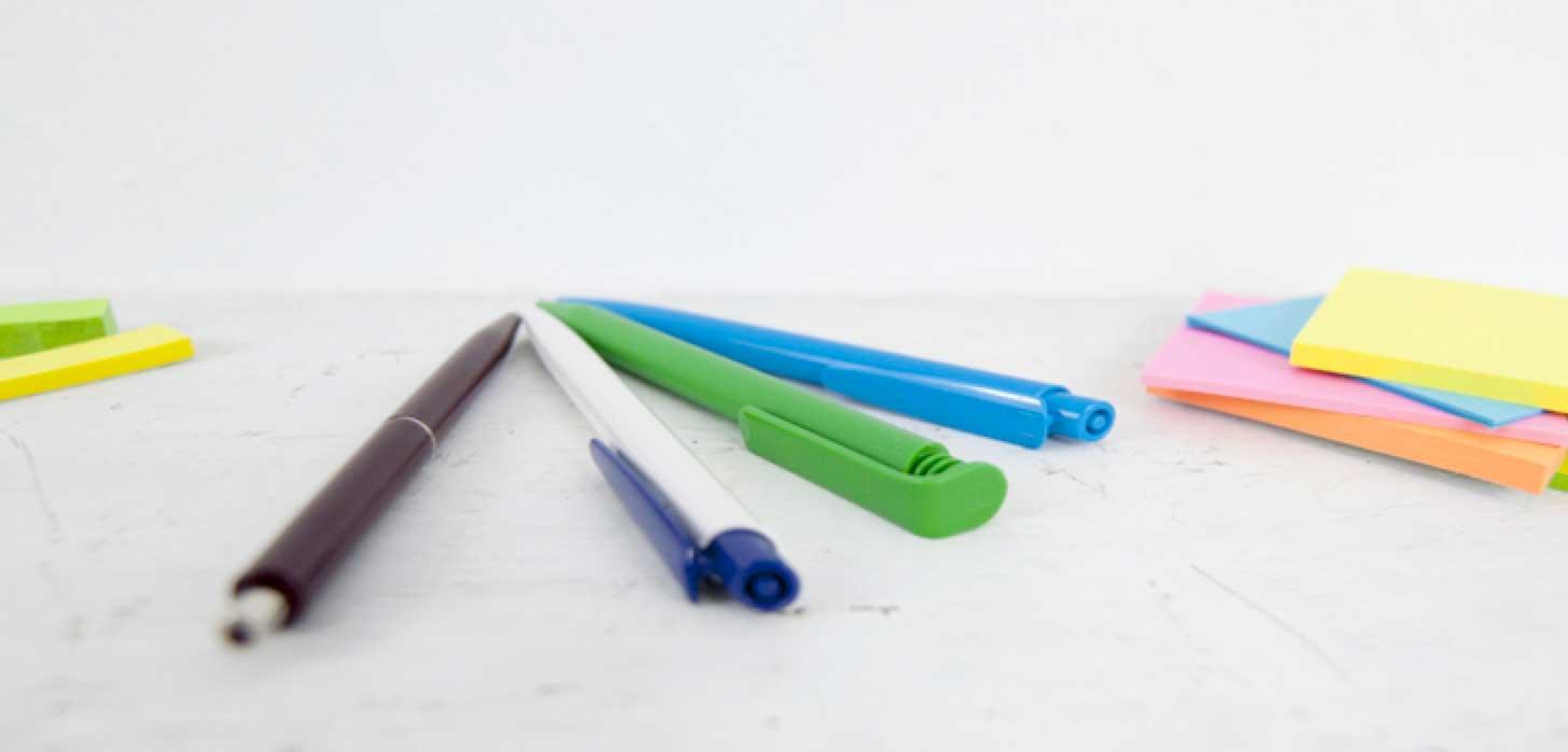Kunststoffkugelschreiber unteres Preissegment