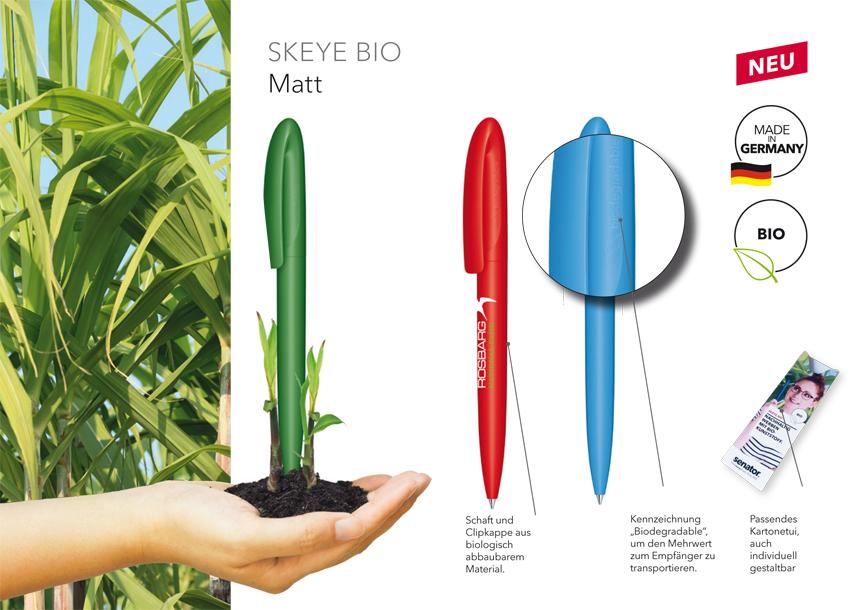 Material Bio Kugelschreiber